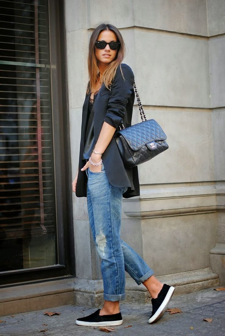 Boyfriend Jeans Fashion The Wow Style