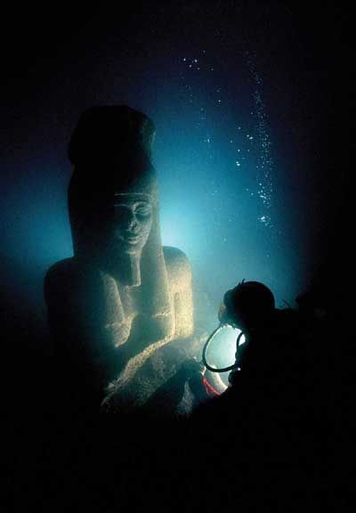 Egypt's sunken treasures