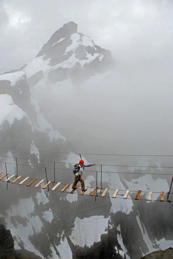 Sky Walking , Mt. Nimbus , Canada