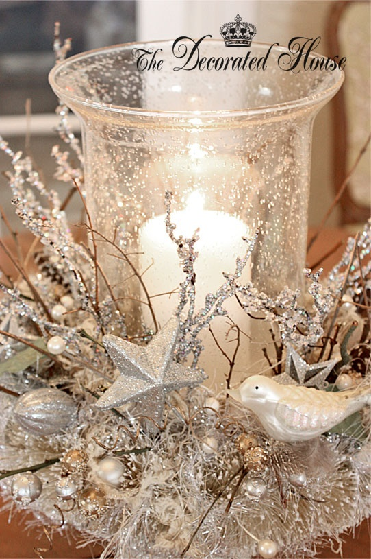 White Vintage Christmas Ideas 2015 (22)