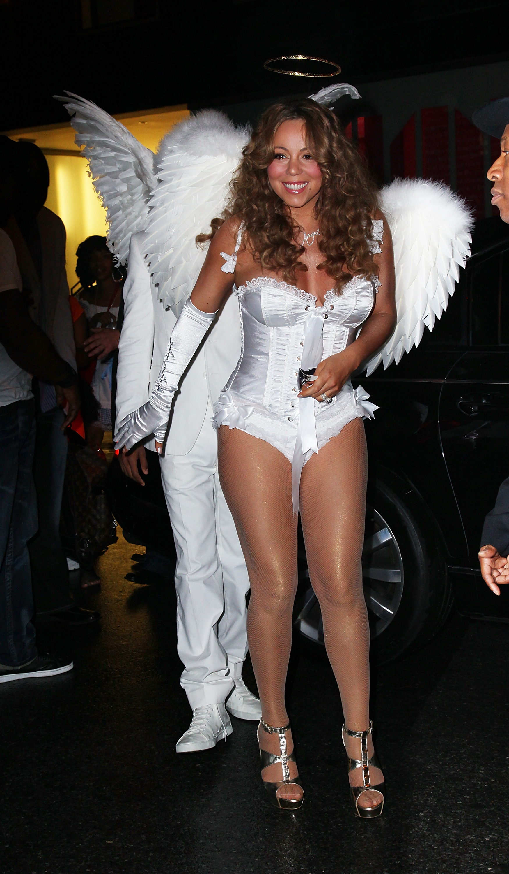 Mariah Carey Hosts A Halloween Celebration At M2 Ultra Lounge