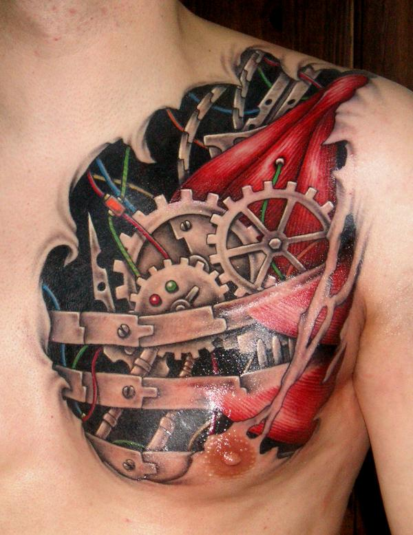 Most Beautiful 3D Tattoo Ideas - The WoW Style