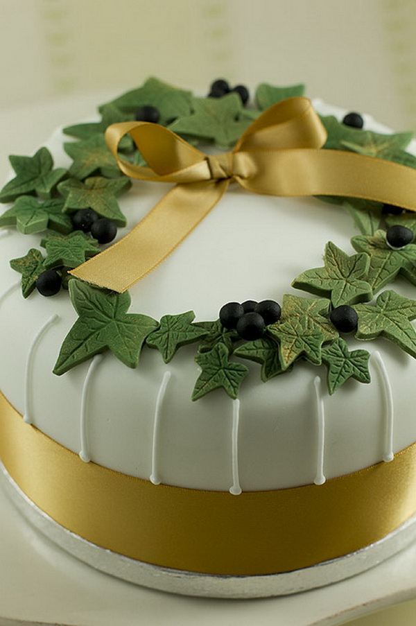 50 Christmas Cake Decorating Ideas - The WoW Style
