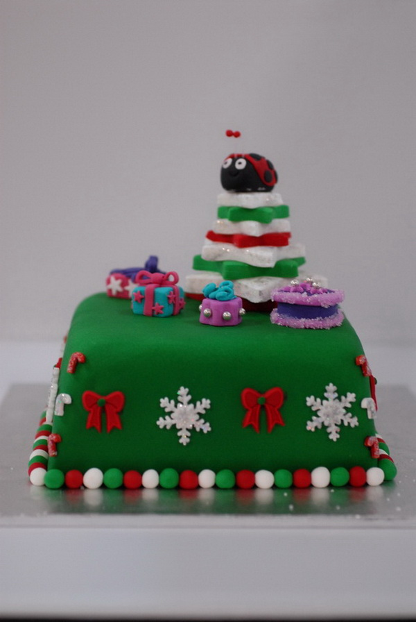 50 Christmas Cake Decorating Ideas The Wow Style