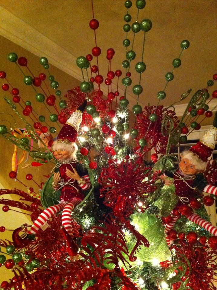 55 Beautiful Christmas Tree Topper Ideas The Wow Style