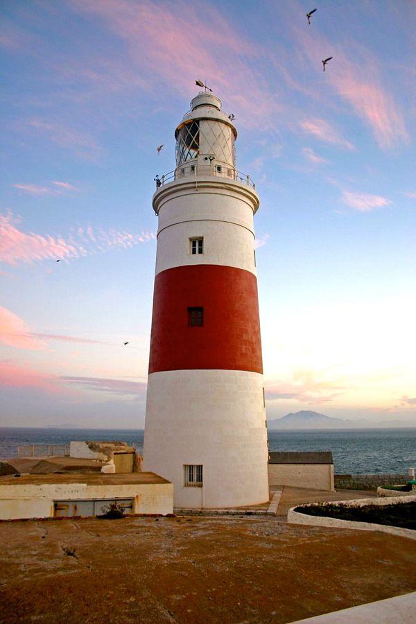 4)Europa Point Lighthouse, Gibraltar