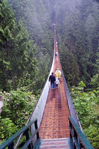 Capilano suspension bridge Canada
