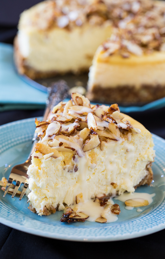 Delicious Amaretto Cheesecake