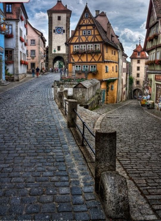 Old town of Rothenburg