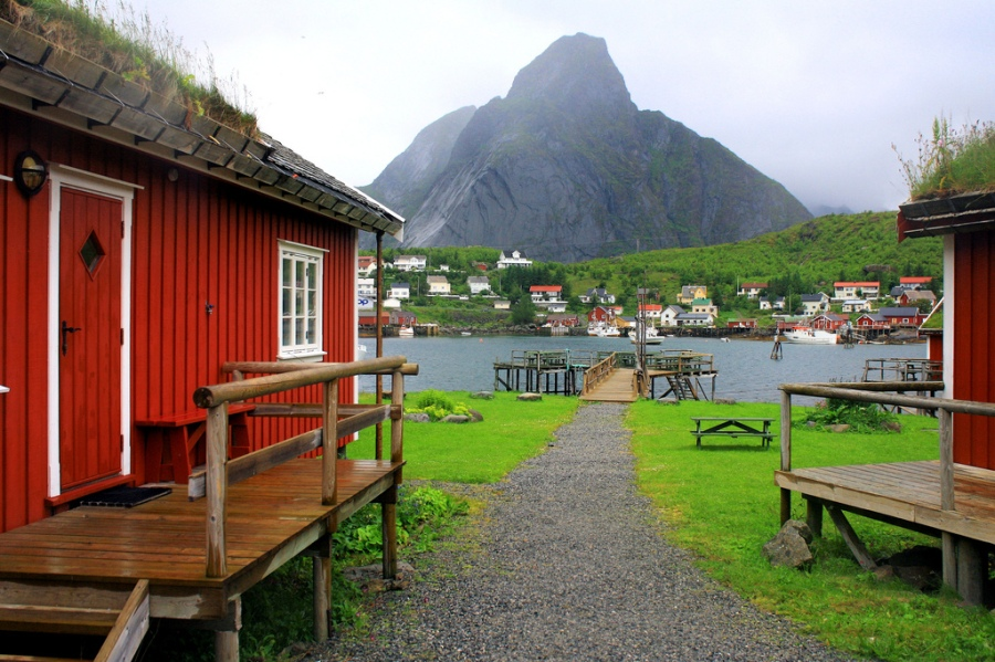 Scandinavian Fishing Village 2
