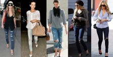 Celebrities Ripped Jeans Fashion Inspirations