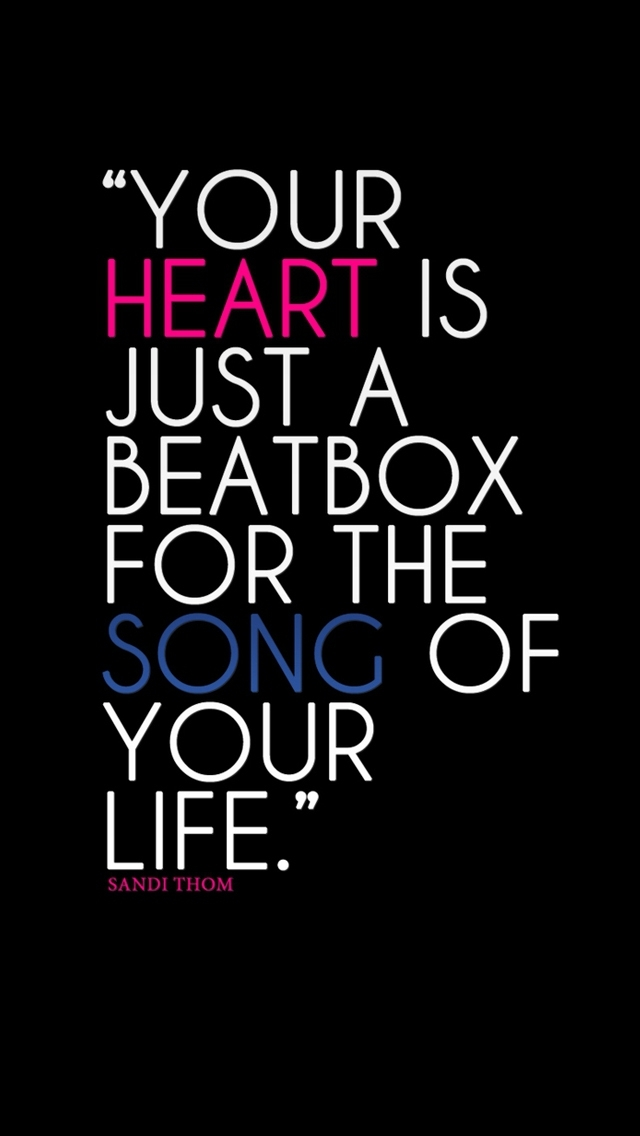 Funny Quotes On Music Lovers : Love Quotes Wallpaper For iphone
