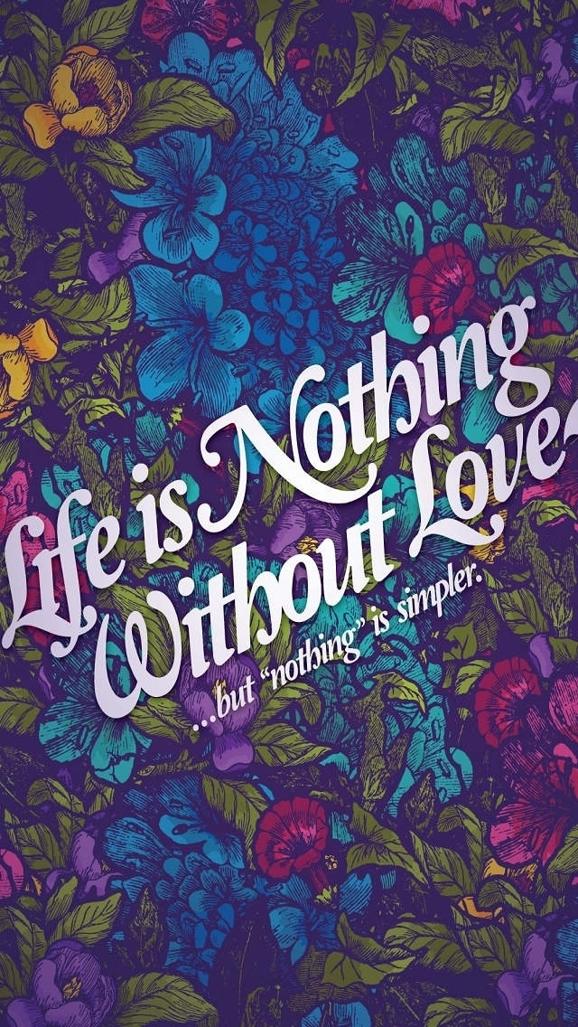 Love Quotes Wallpaper Iphone 5 : Love Quotes Wallpaper For iphone