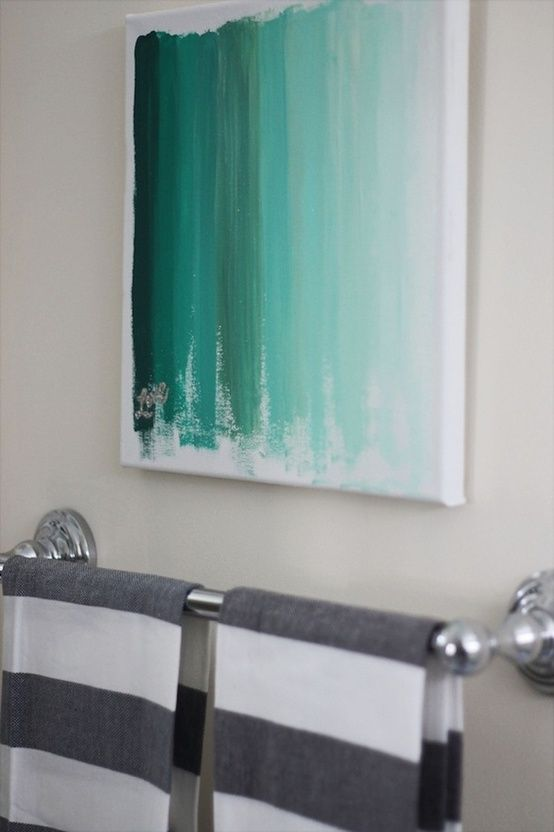25 Creative and Easy DIY Canvas Wall Art Ideas - The WoW Style