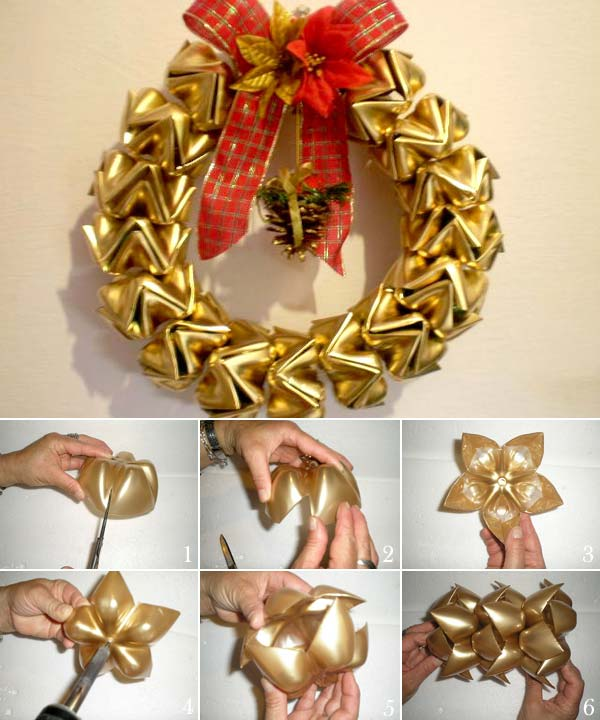 Diy Christmas Wreath Ideas...