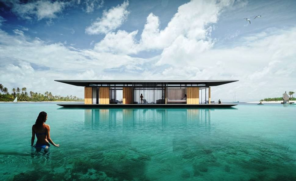 Mobile Floating House.