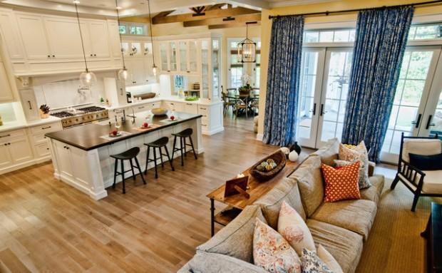 Open-Concept-Kitchen-Living-Room-Design-Ideas-10-620x383