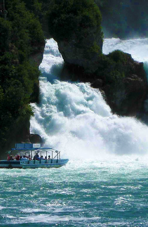 rhine falls switzerland how to get there