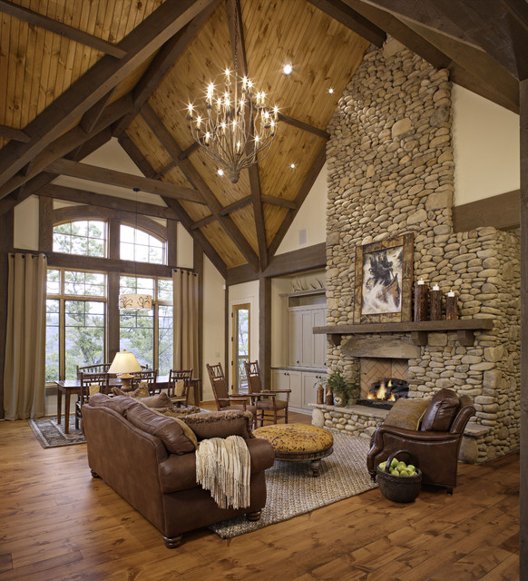 Glamorous Living Room Designs That Wows: Rustic Living Room Design Ideas