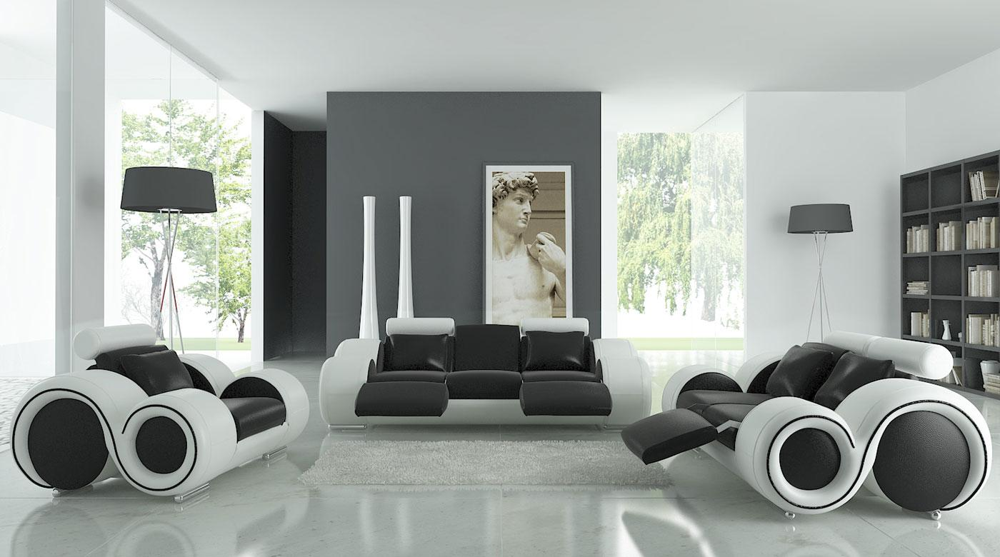 Marvelous 17 Inspiring Wonderful Black And White Contemporary Interior
