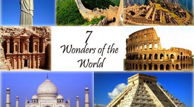 Must Visit New 7 Wonders of the World