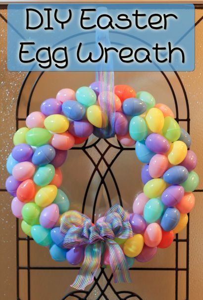 Adorable Spring Easter Wreaths