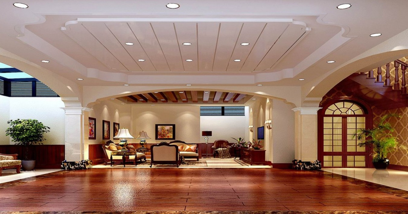 35 awesome ceiling design ideas for Spanish villa interior design