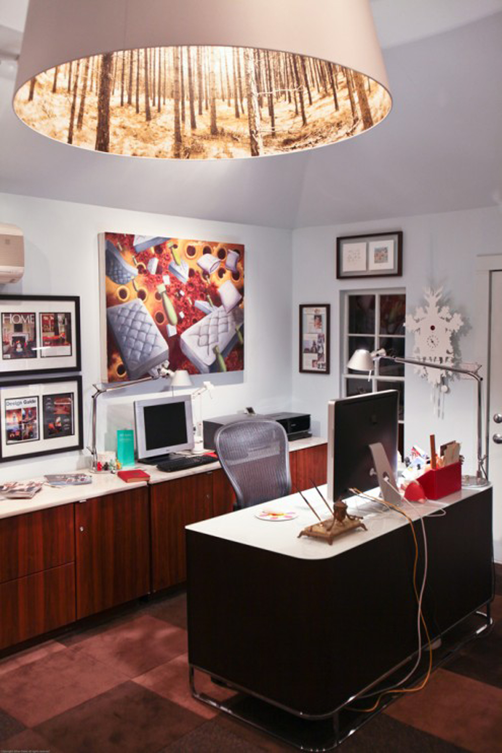 30 functional and creative home office ideas for Best home office design ideas