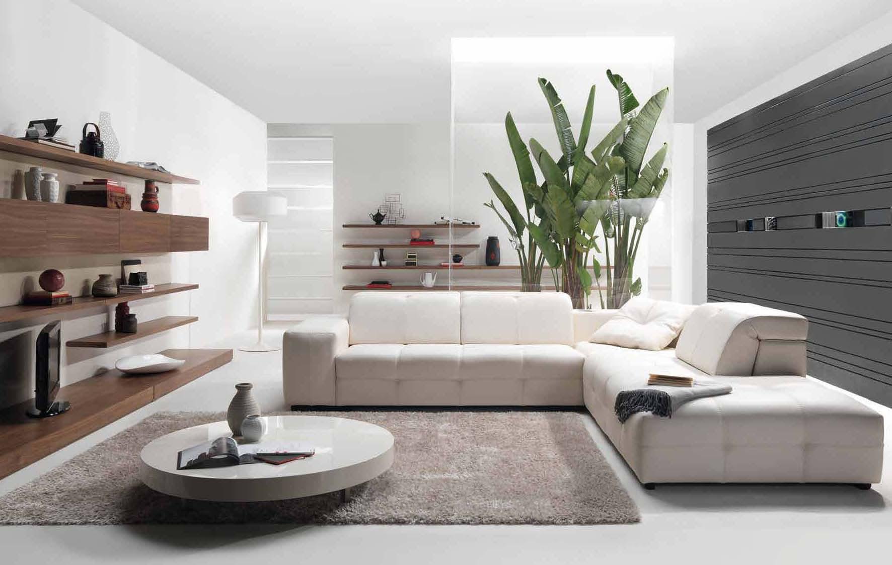 30 White Living Room Ideas