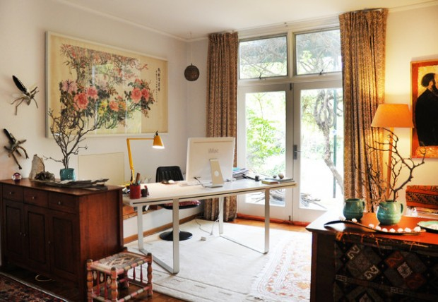 Functional and Creative Home Office
