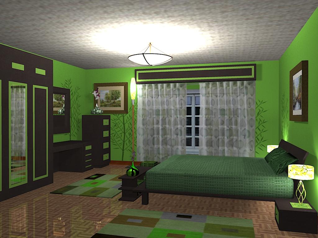 Green-Color-For-Interior-Design-Decoration2