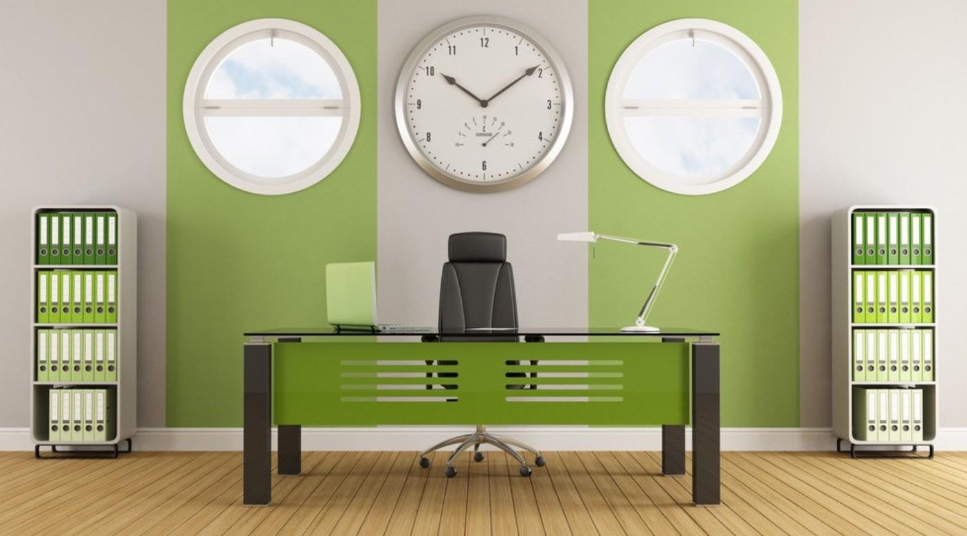 Green-wall-office-interior-design