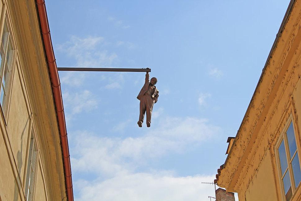 Man Hanging Out [Prague, Czech Republic]