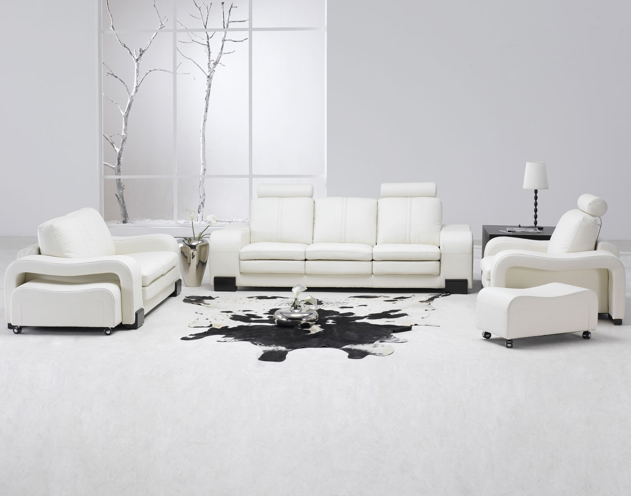 30 white living room ideas the wow style - Living room colors with white furniture ...