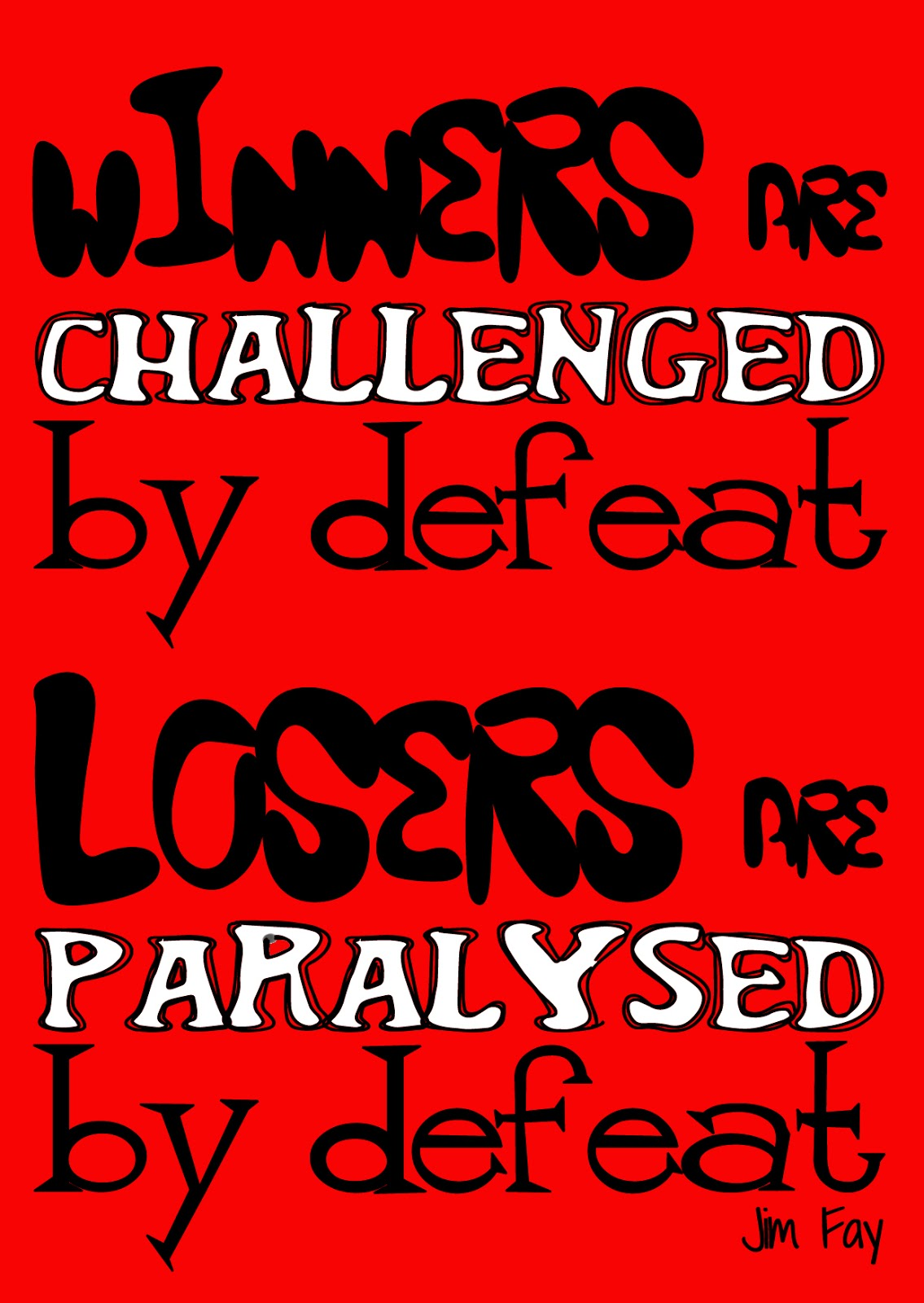Winners are challenged by defeat2 logic