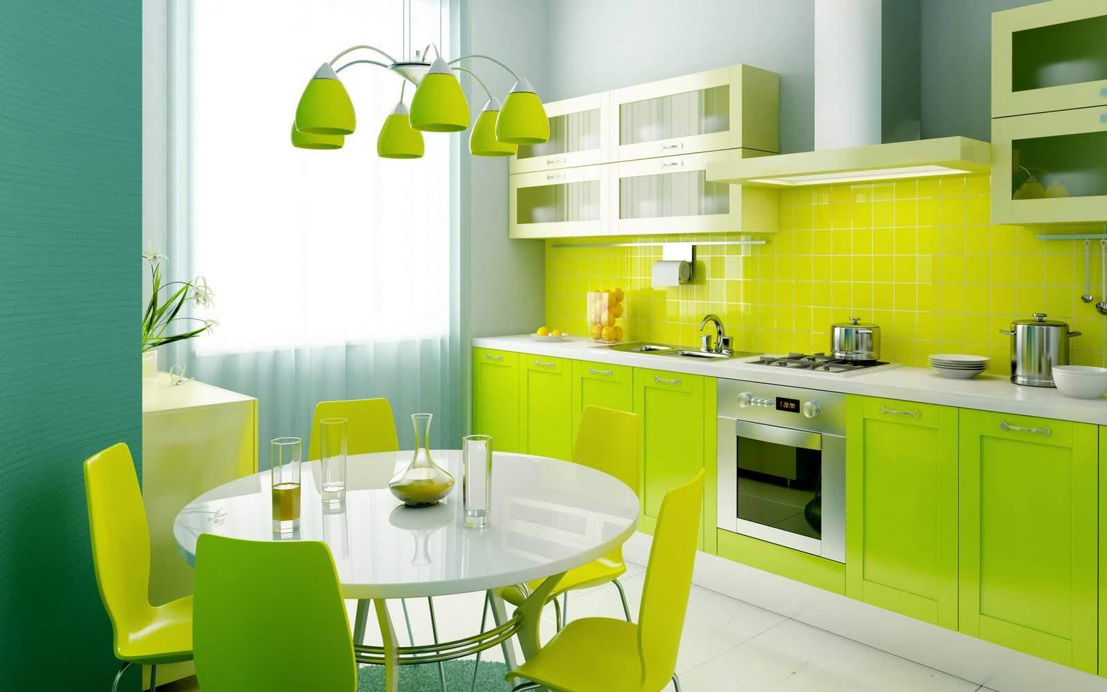 best-green-kitchen-interior-design