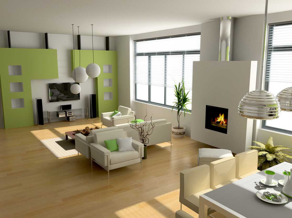 contemporary-living-room-wall-design