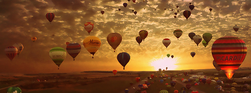 facebook-cover-balloons-sunset-view-facebook-cover