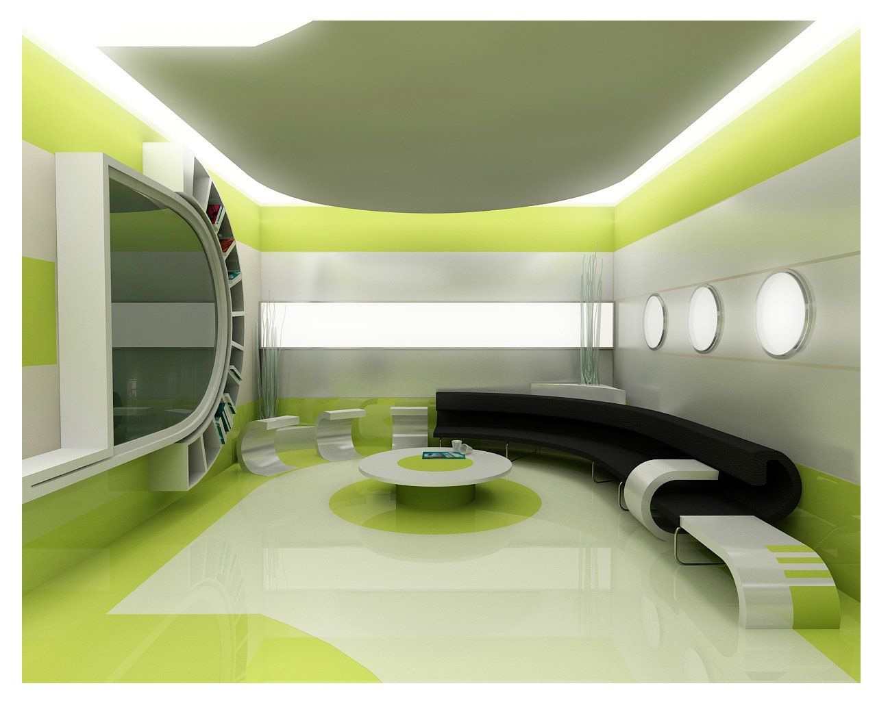 Green interior design for your home for Home interior design images