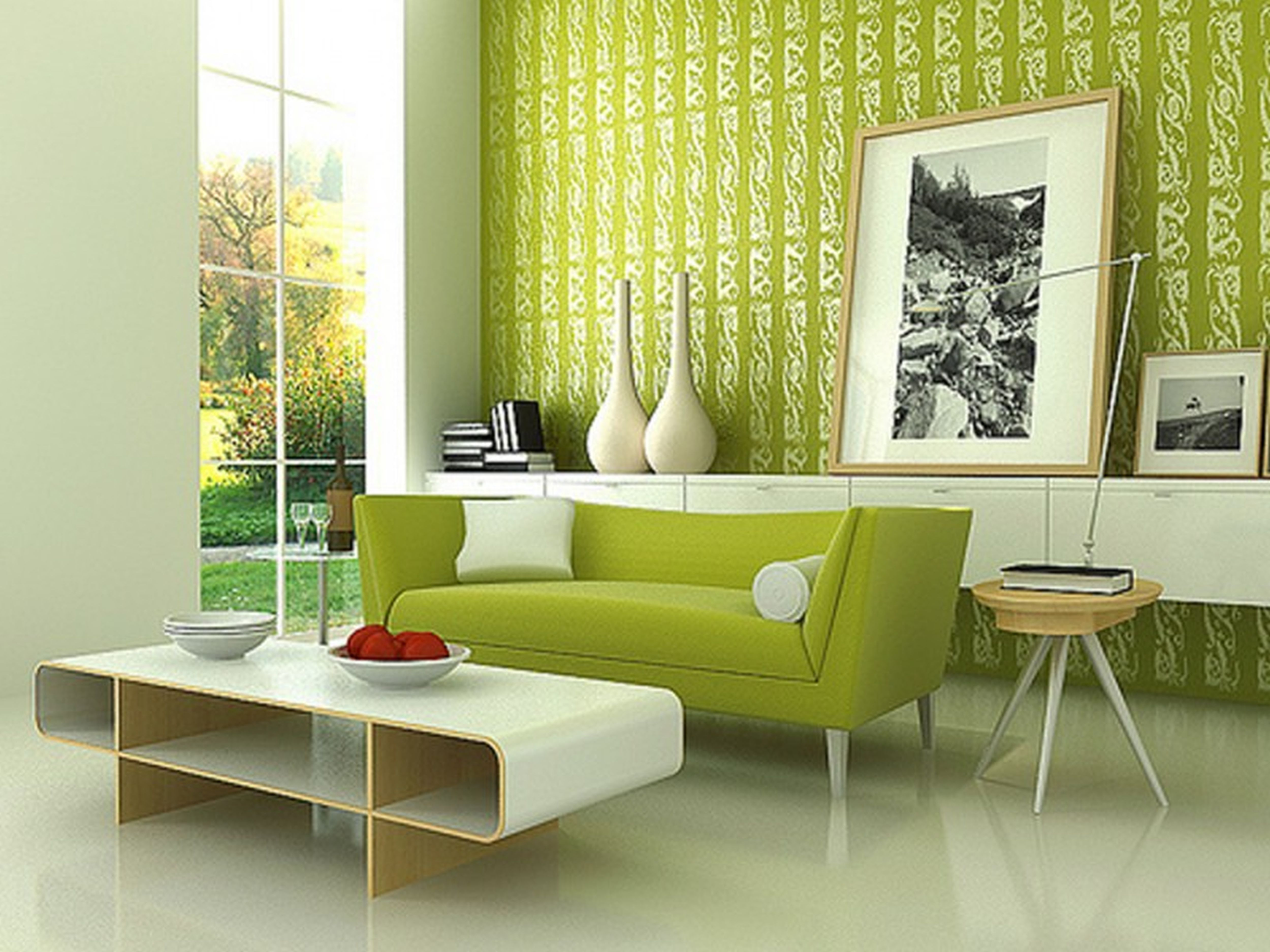 Green interior design for your home Home and decoration
