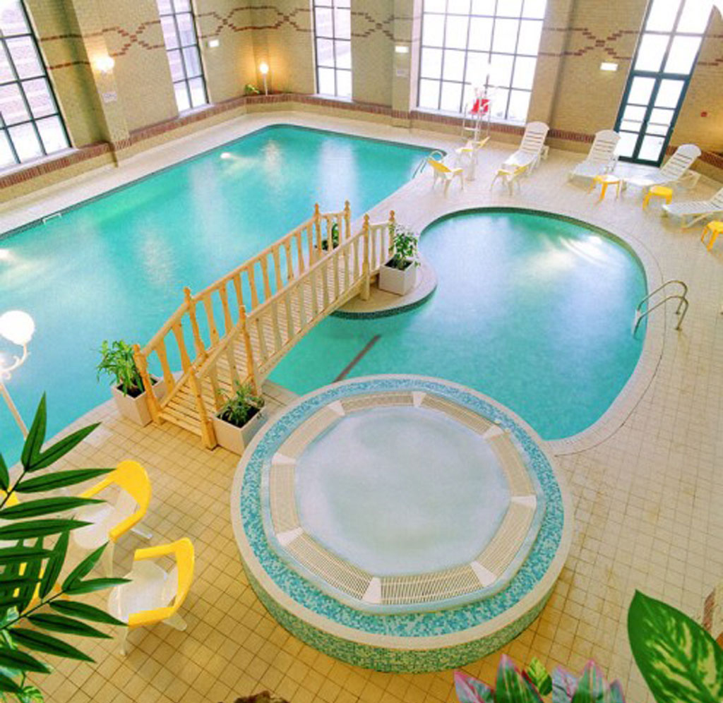 Indoor swimming pool ideas for your home for House plans with swimming pools