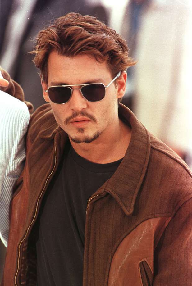 johnny depp handsome