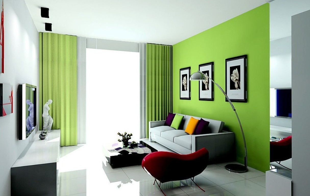 stirring-awesome-green-living-room-paint-colors-for-minimalist-home-interior-design