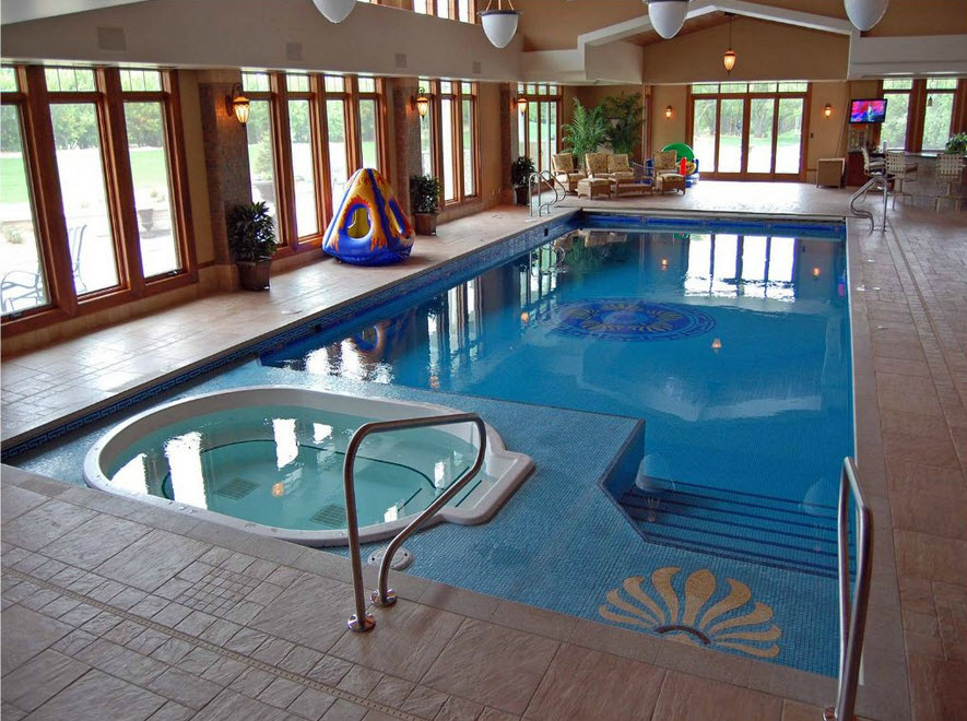 Indoor swimming pool ideas for your home the wow style for Pool design indoor
