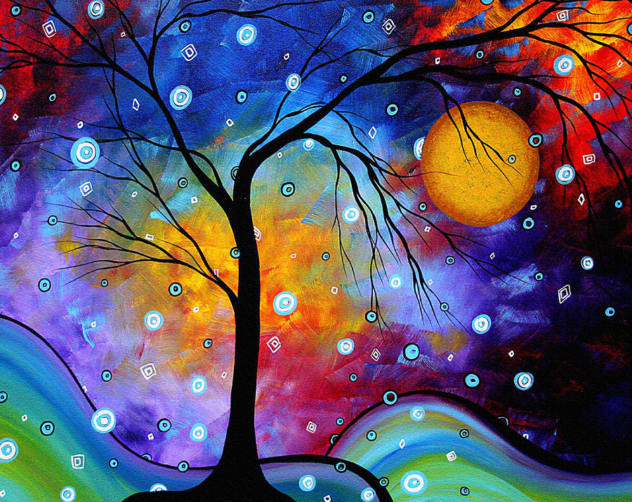 winter-sparkle-original-madart-painting-painting-by-megan-duncanson-winter-sparkle-original-madart-painting-fine-art-prints-and-posters-for-sale-1341709320_org