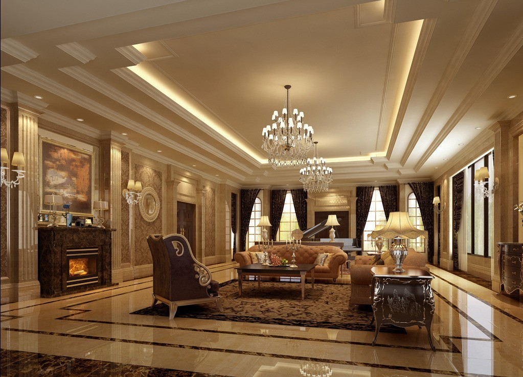 40 luxurious interior design for your home for Home designs com