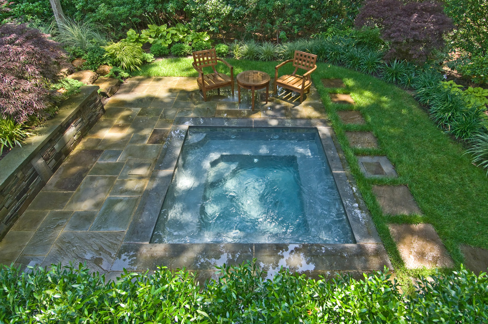 Marvelous-Small-Built-In-Pools-Ideas-in-Pool-Traditional-design-ideas-with-bluestone-coping-garden-in-ground-hot-tub