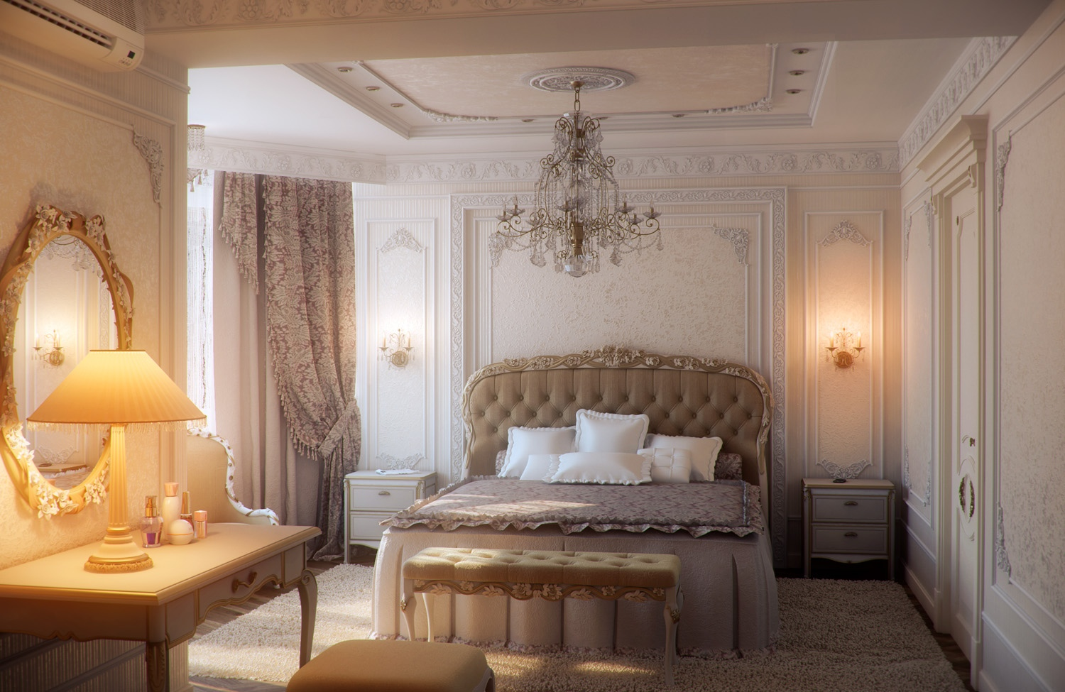 25 Traditional Bedroom Design For Your Home - The WoW Style on Bedroom Decor  id=28858