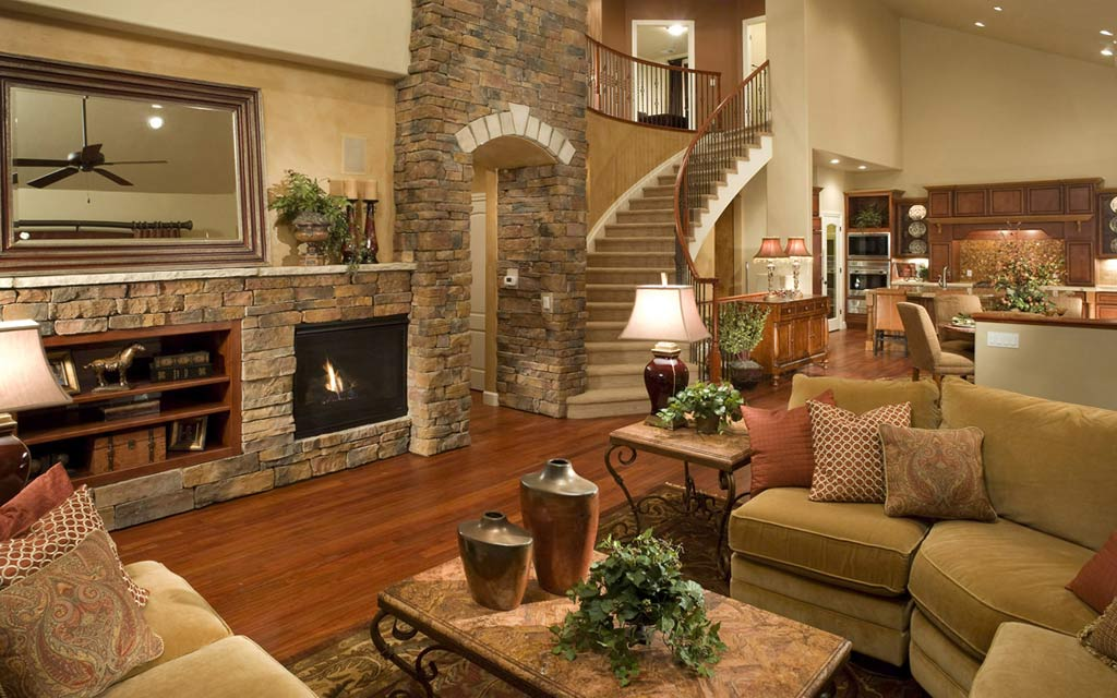 traditional living rooms. Warm style traditional living room 33 Traditional Living Room Design