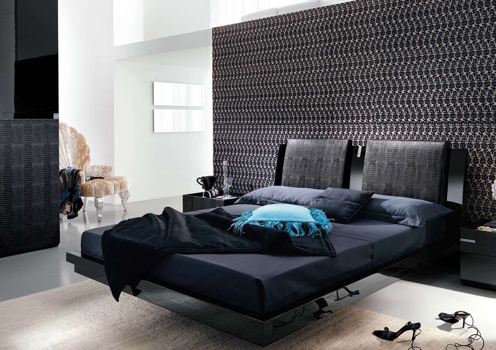 black-modern-bedroom-furniture